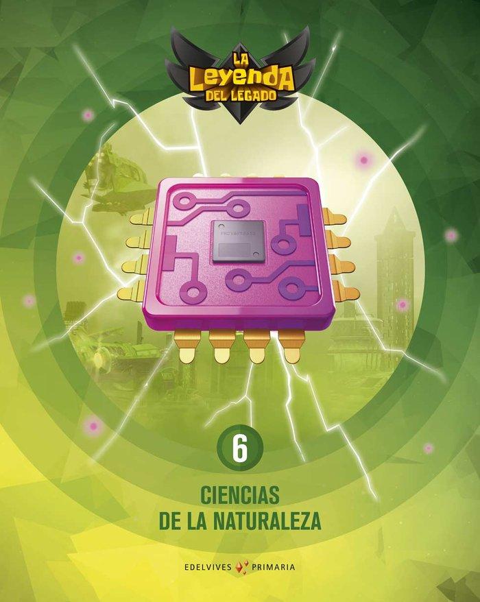 Ciencias naturaleza 6ºep + lic.digital 21 leyenda