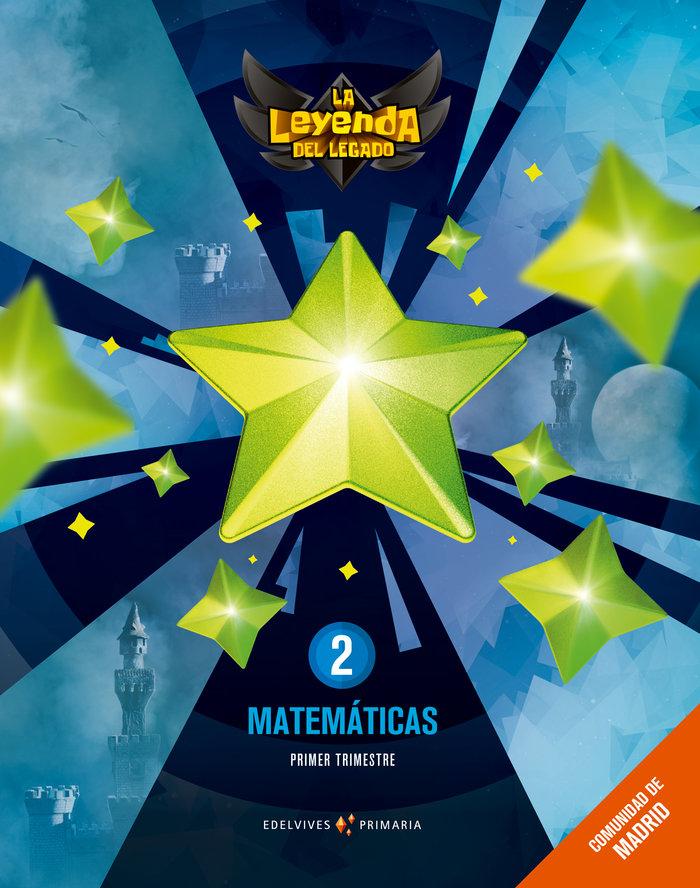 Matematicas 2ºep madrid + lic.digital 21 leyenda l