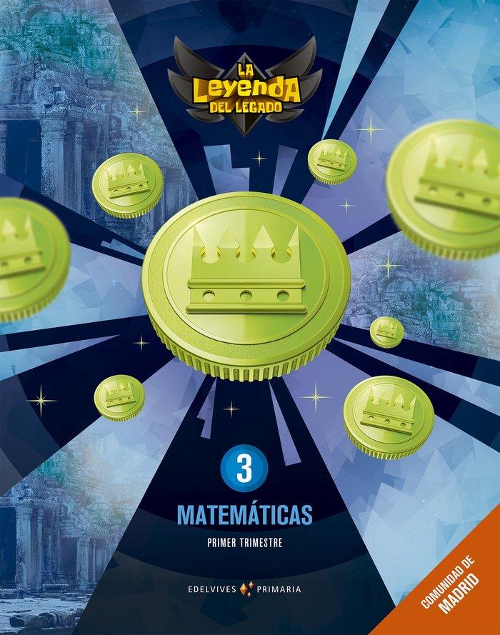 Matematicas 3ºep madrid + lic.digital 21 leyenda l