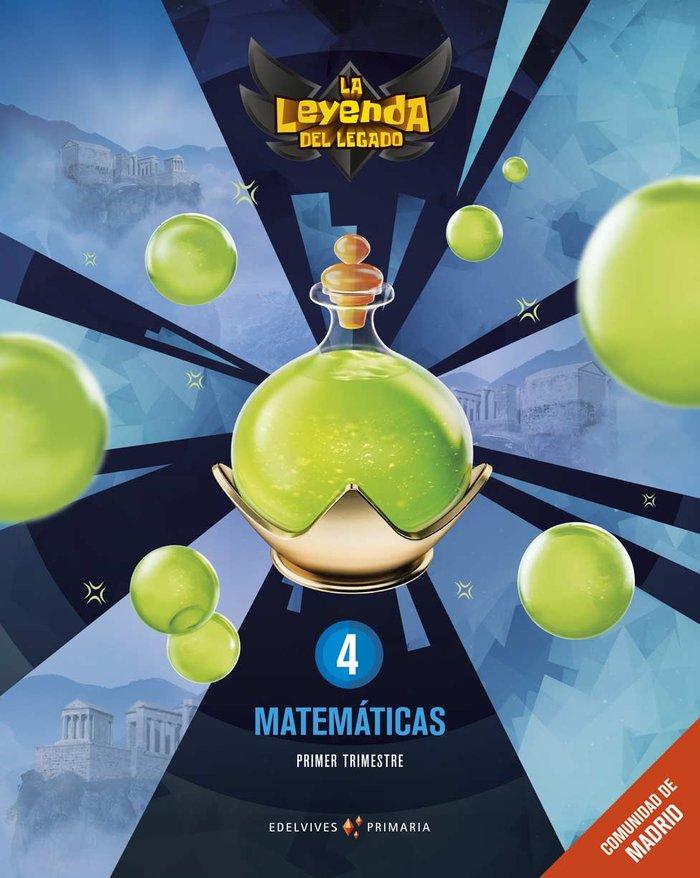 Matematicas 4ºep madrid + lic.digital 21 leyenda l