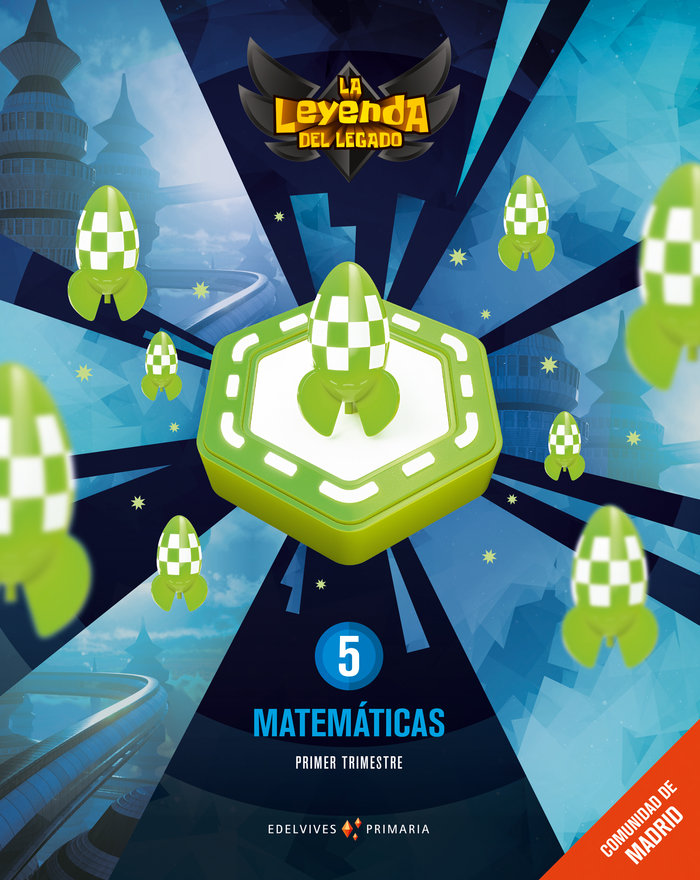 Matematicas 5ºep madrid + lic.digital 21 leyenda l