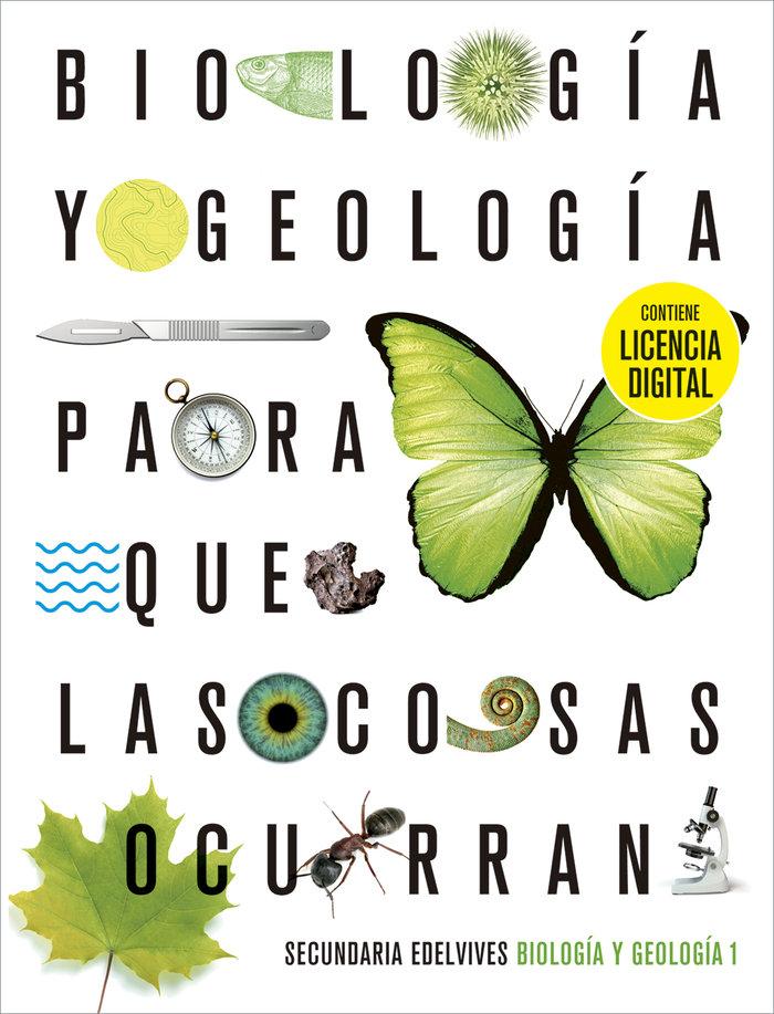 Biologia geologia 1ºeso + lic.digital 21 para cosa
