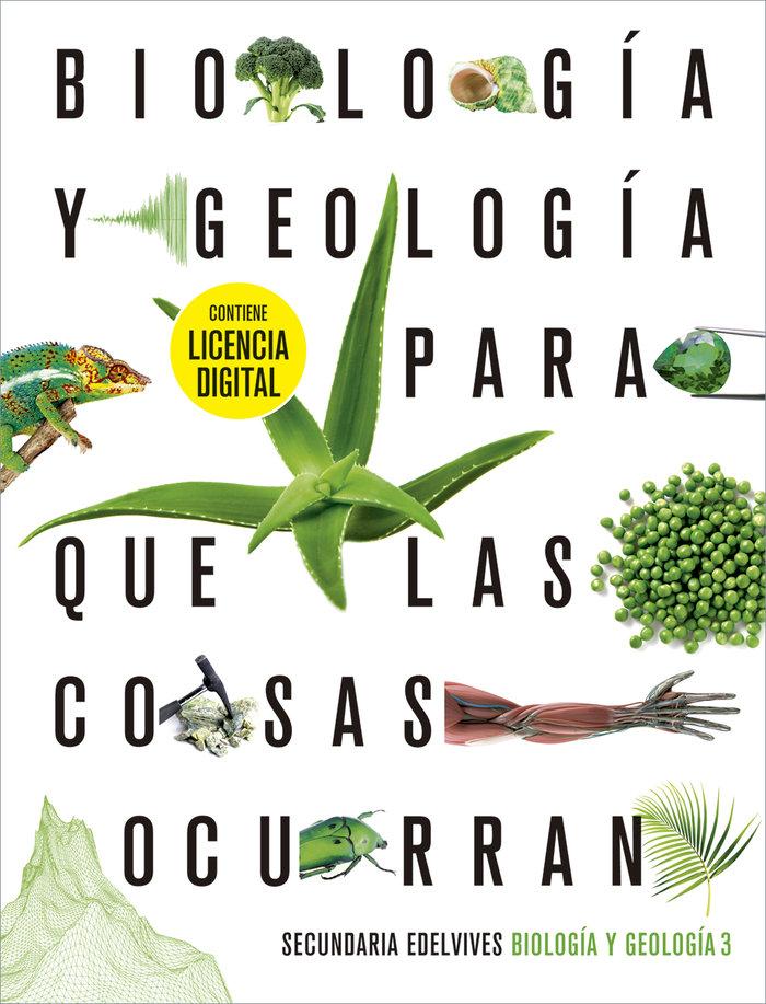 Biologia geologia 3ºeso + lic.digital 21 para cosa