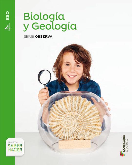 Biologia y geologia serie observa 4 eso saber hace