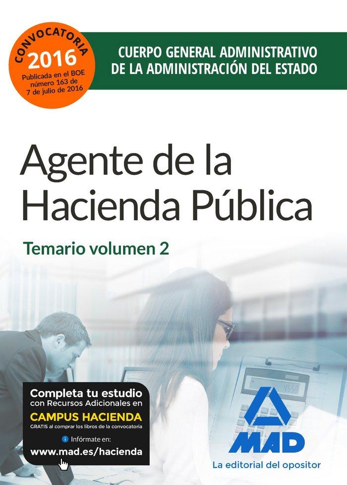 Agentes hacienda publica temario 2 2016
