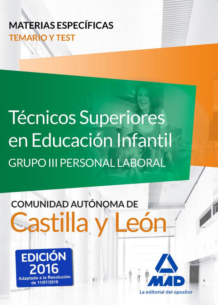 Tecnicos superiores en educacion infantil
