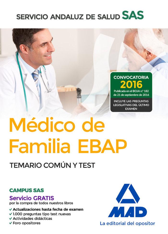 Medico familia ebap sas temario comun y test