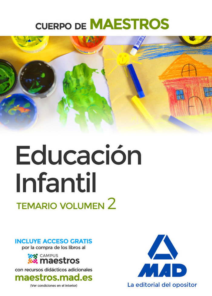 Cuerpo maestros educacion infantil temario vol 2