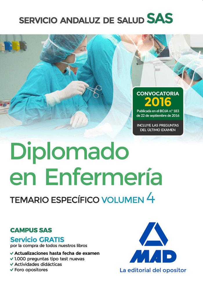 Diplomado enfermeria servicio andaluz salud volumen 4