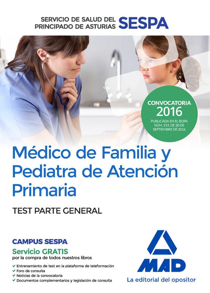 Medico de familia y pediatra de atencion primaria del servic