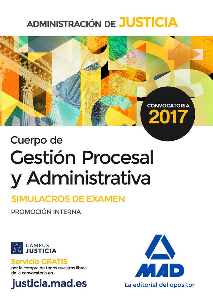 Cuerpo gestion procesal y administrativa simulacro examen