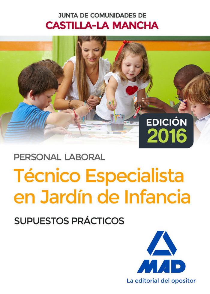 Tecnico especialista jardin de infancia supuestos practicos