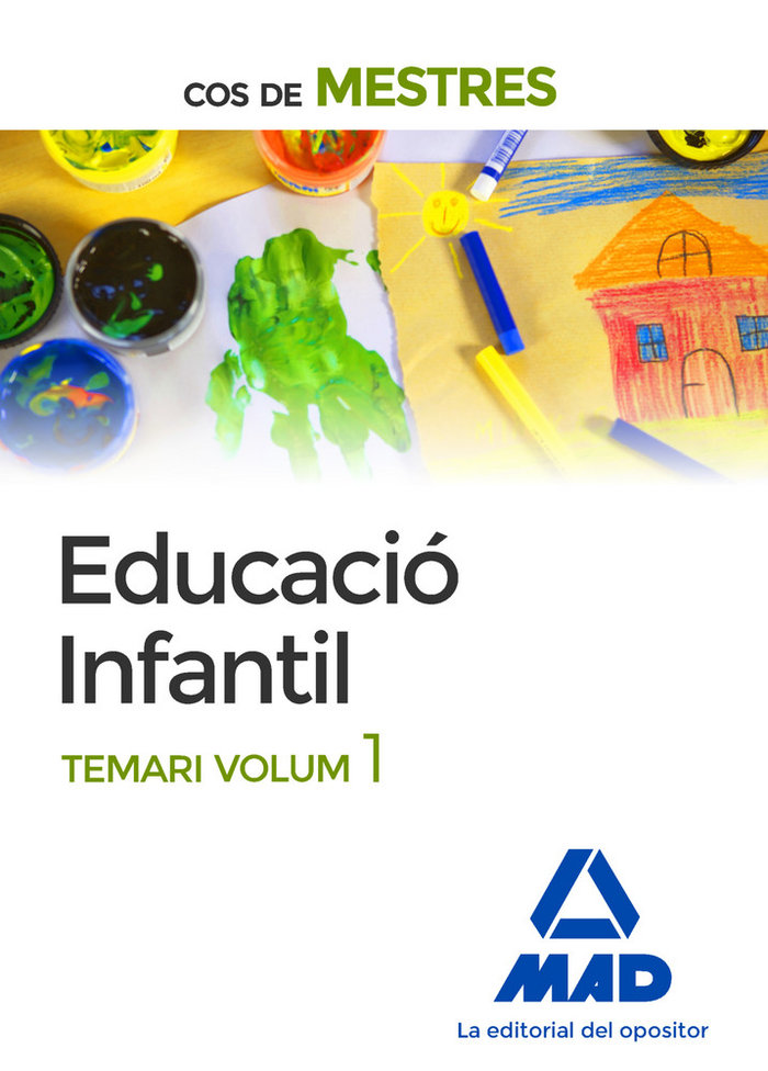 Cos de mestres educacio infantil temario vol 1