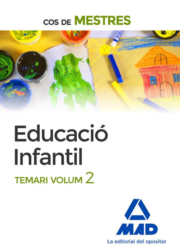 Cos de mestres educacio infantil. temari volum 2