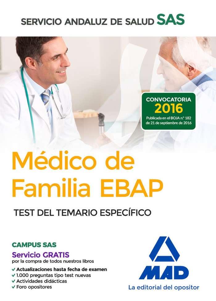 Medico familia ebap sas test 16 t.especifico