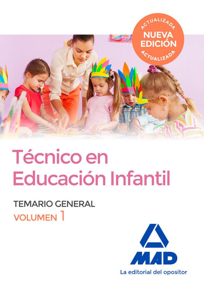 Tecnico en educacion infantil volumen 1