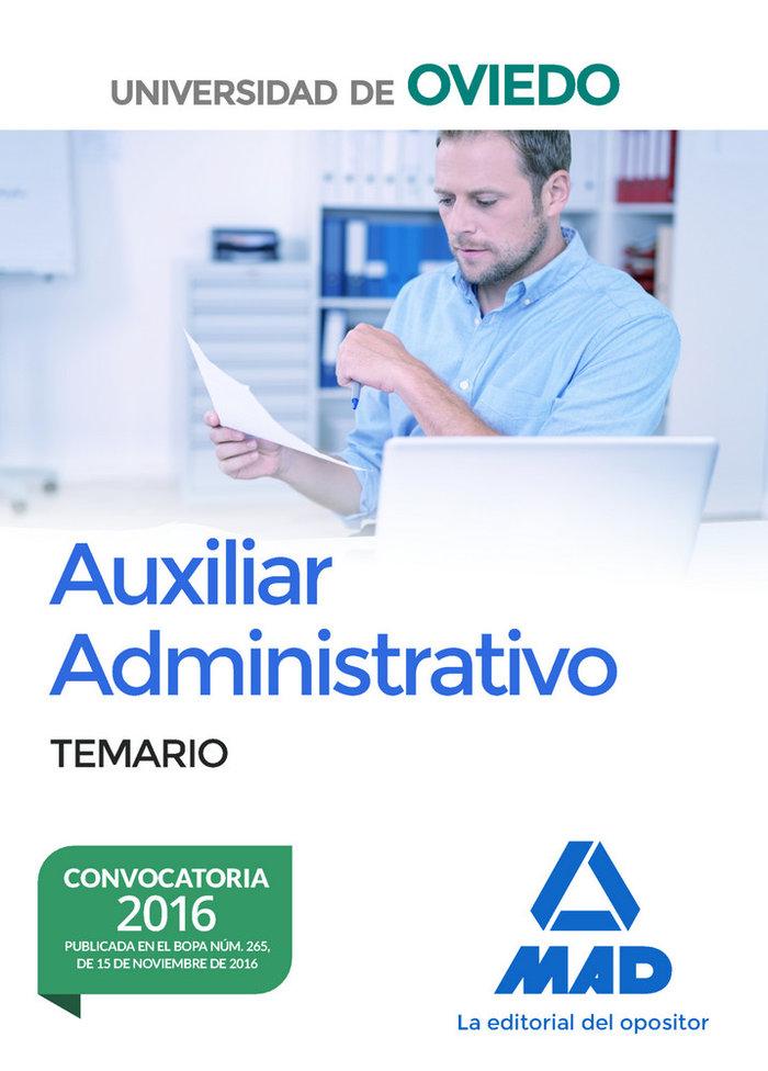 Escala de auxiliares administrativos de la universidad de ov