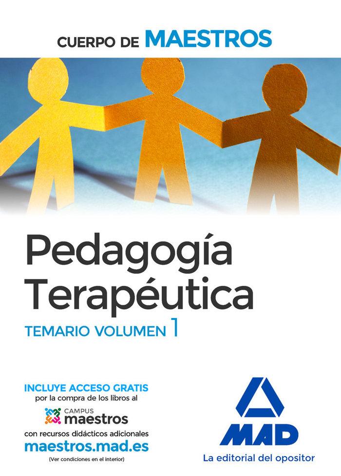 Cuerpo maestros pedagogia terapeutica vol i