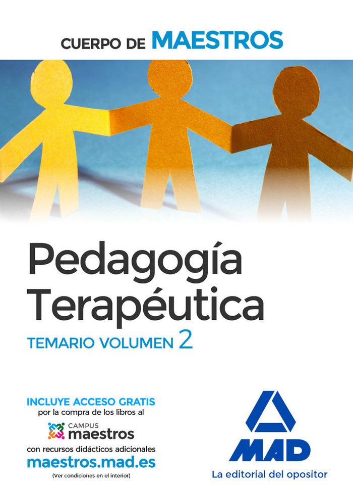 Cuerpo maestros pedagogia terapeutica vol ii