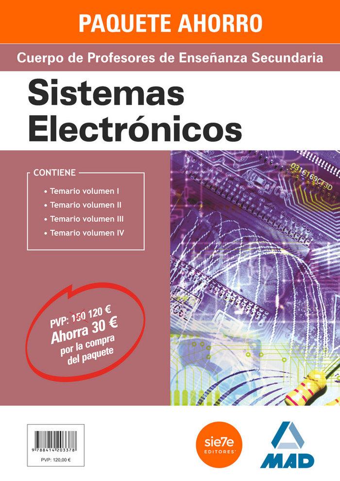 Paquete ahorro sistemas electronicos cuerpo de profesores de