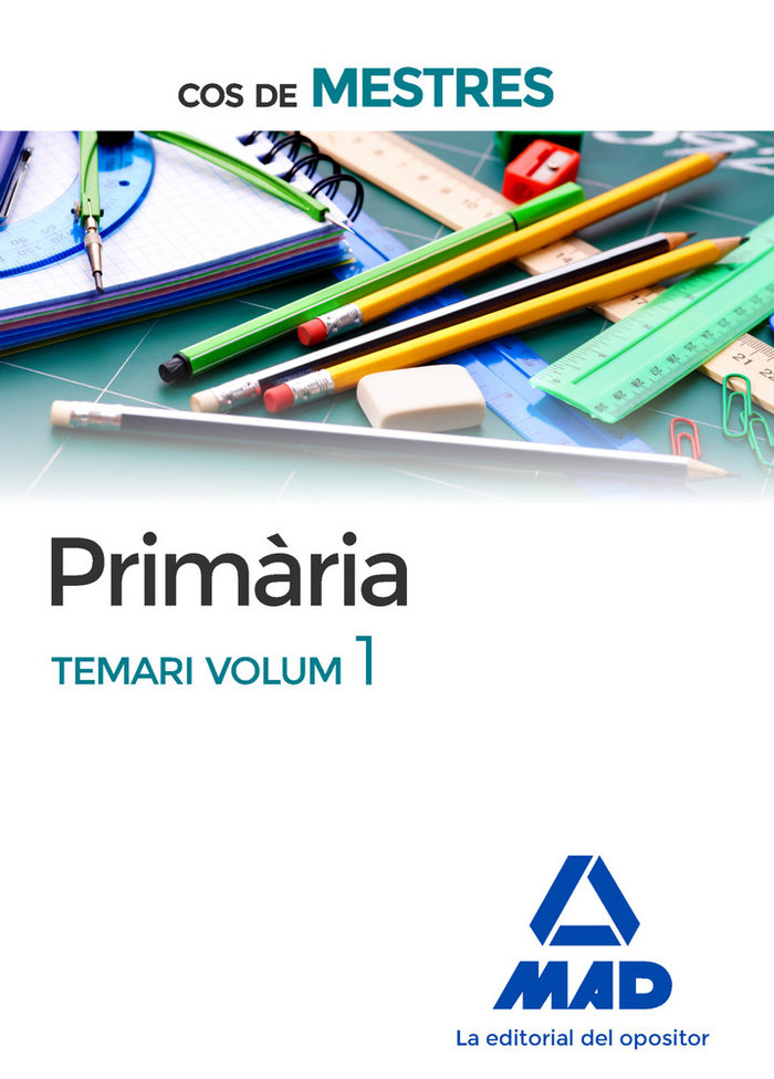 Cos de mestres primaria. temari volum 1