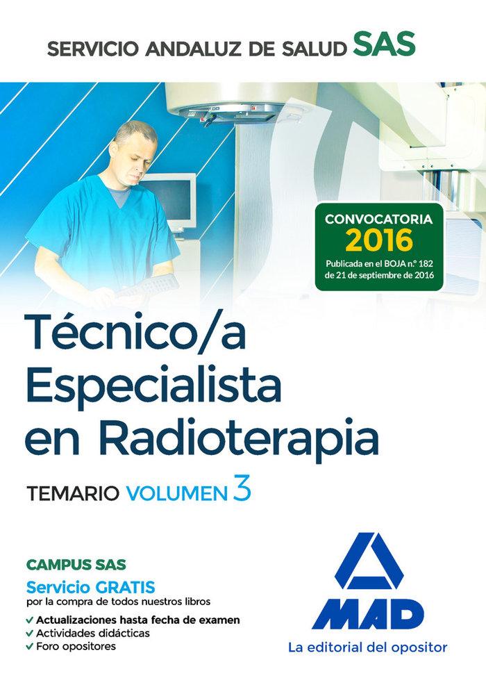 Tecnico especialista radioterapia sas vol 3