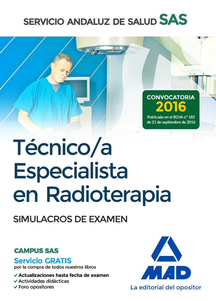 Tecnico especialista radioterapia sas simulacro de examen