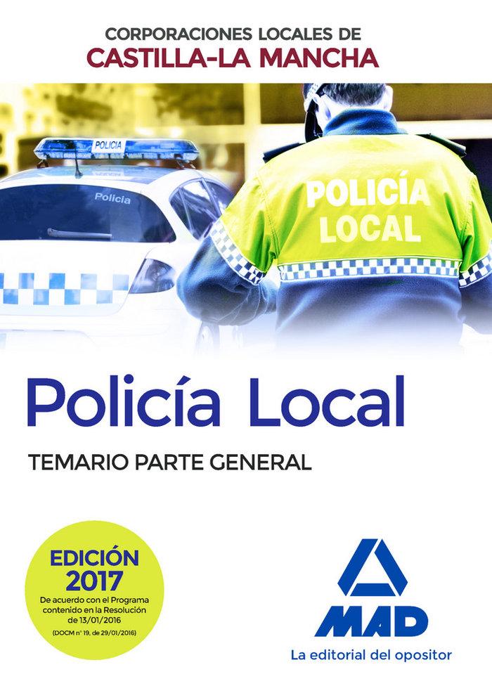 Policia local de castilla-la mancha. temario. parte general