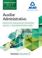 Auxiliar administrativo del instituto insular de atencion so