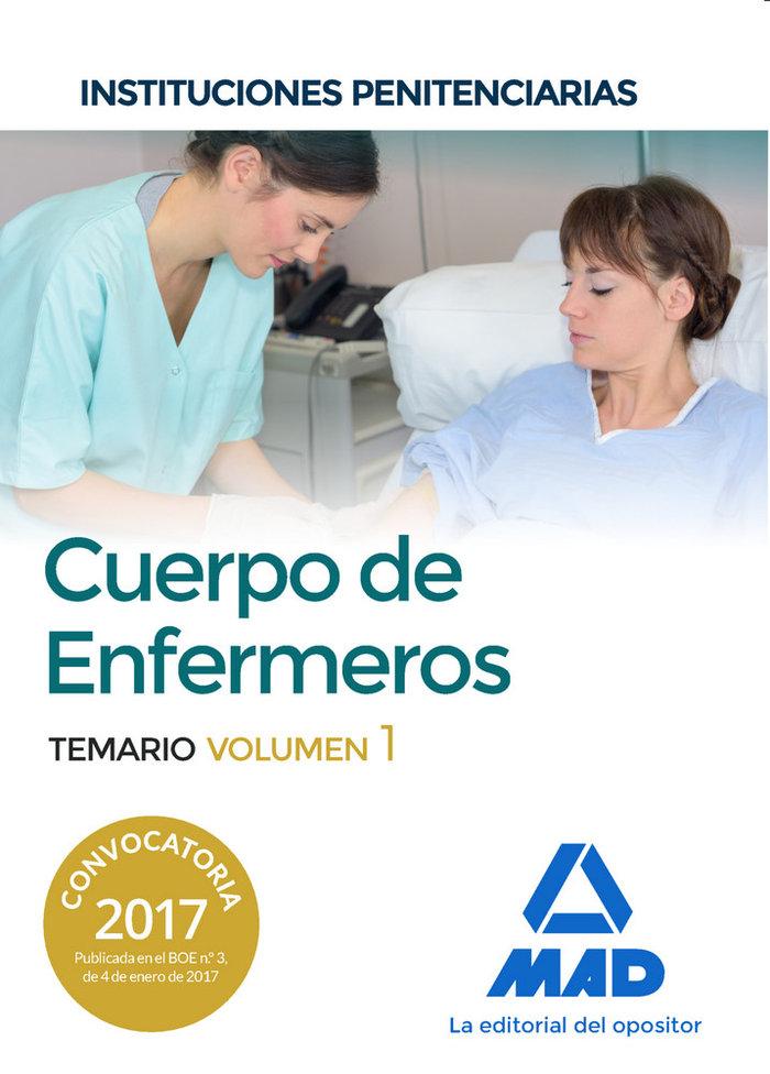 Cuerpo enfermeros instituciones penitenciarias vol 1