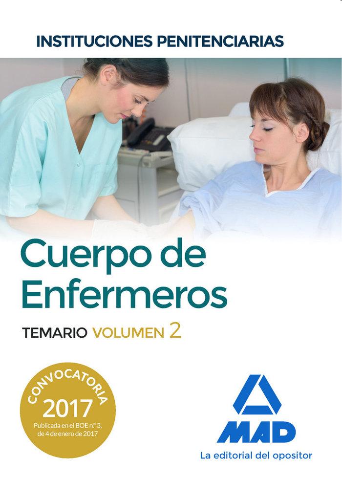 Cuerpo enfermeros instituciones penitenciarias vol 2