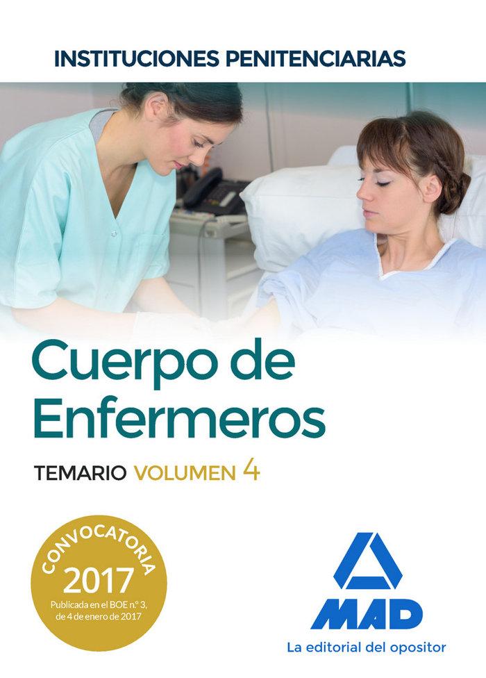 Cuerpo enfermeros instituciones penitenciarias vol 4