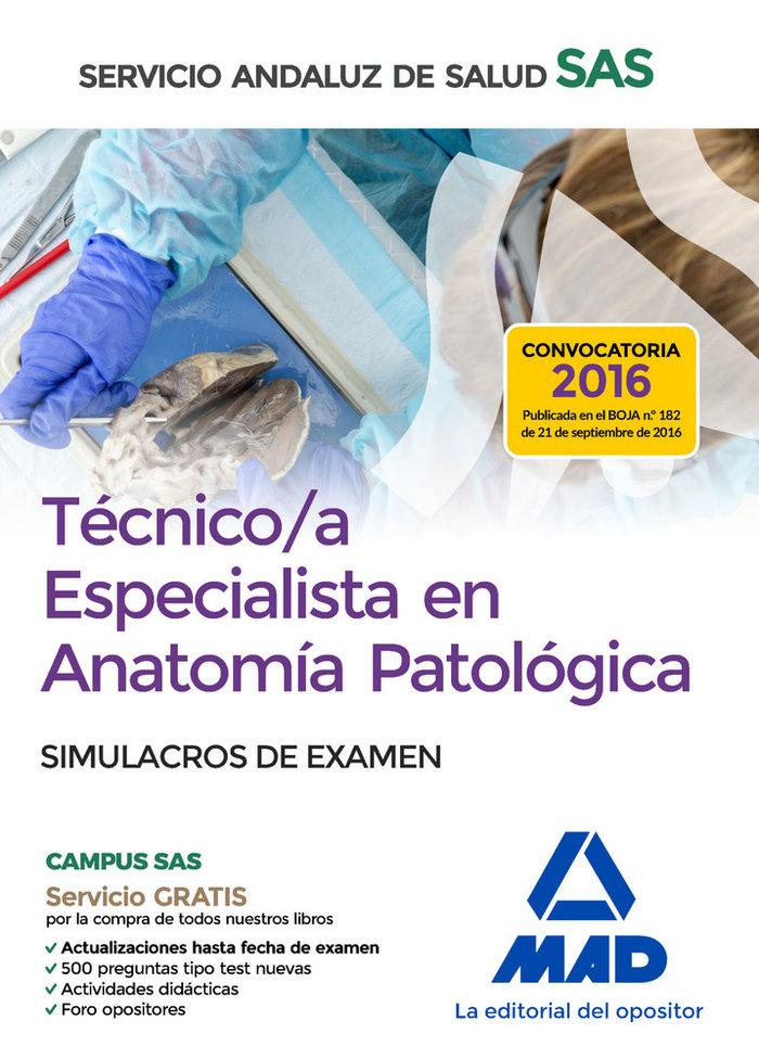 Tecnico/a especialista en anatomia patologica del servicio a