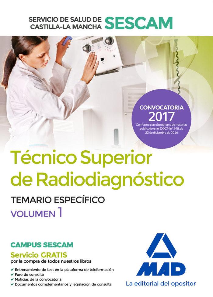 Tecnico superior de radiodiagnostico del servicio de salud d