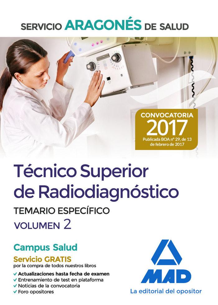 Tecnico superior de radiodiagnostico del servicio aragones d