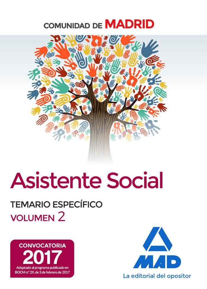 Asistentes sociales de la comunidad de madrid temario especi