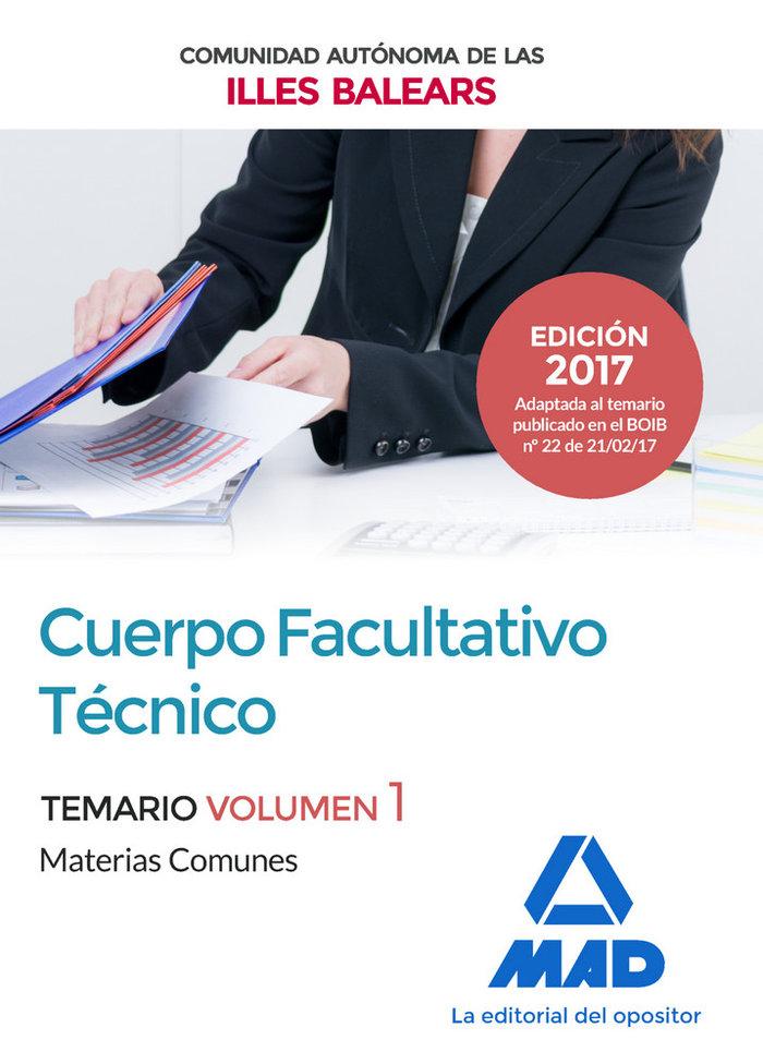 Cuerpo facultativo tecnico de la de la comunidad autonoma de