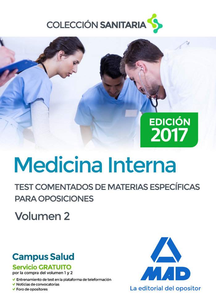 Medicina interna test comentados vol.2