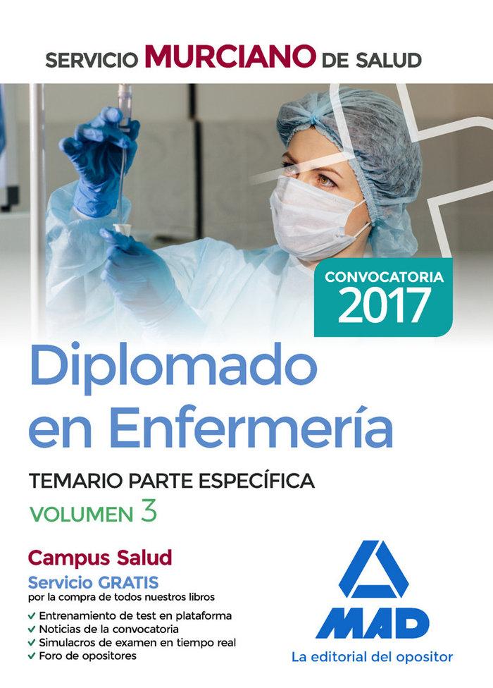 Diplomado en enfermeria del servicio murciano de salud. tema