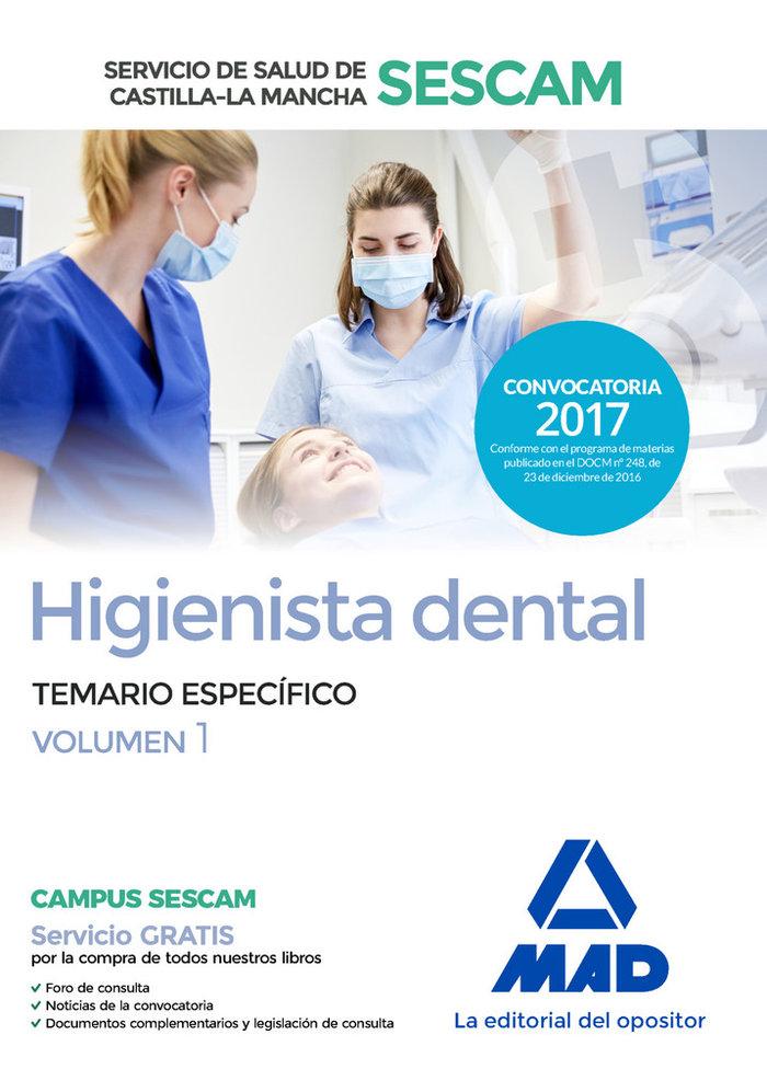 Higienista dental - sescam - temario especifico