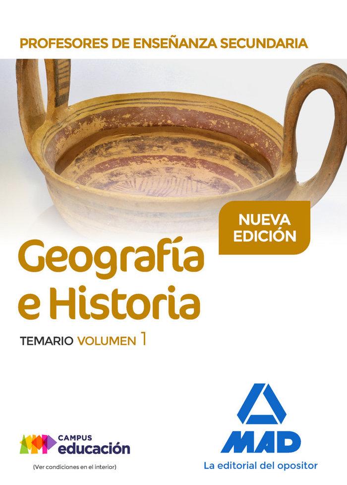 Profesor enseñanza secundaria geografia e historia temario