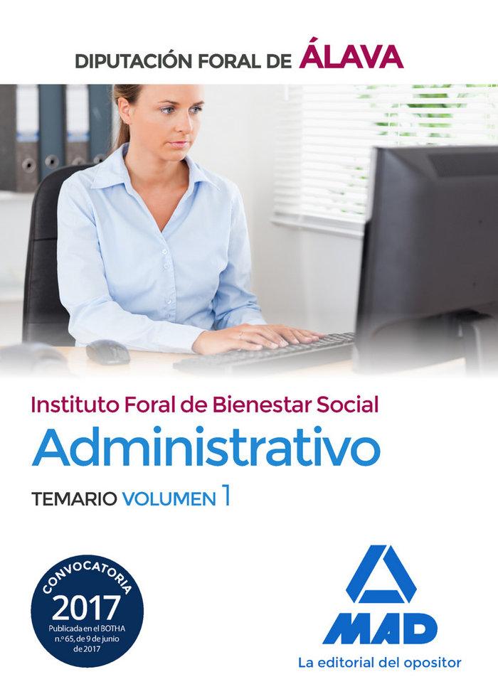 Administrativo del instituto foral de bienestar social de la