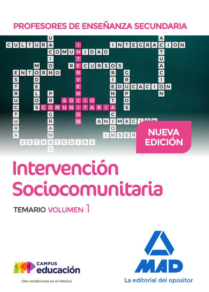 Profesores de enseñanza secundaria intervencion sociocomunit
