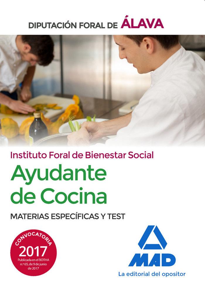 Ayudantes de cocina del instituto foral de bienestar social