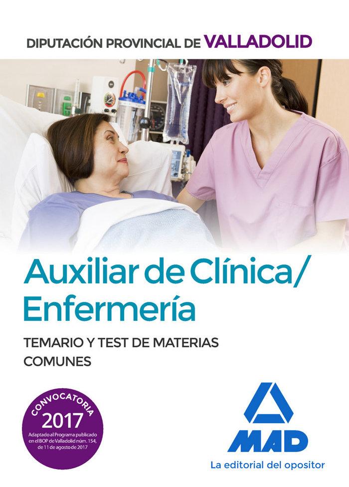 Auxiliar de clinica/enfermeria de la diputacion provincial d