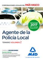 Agente de la policia local del pais vasco