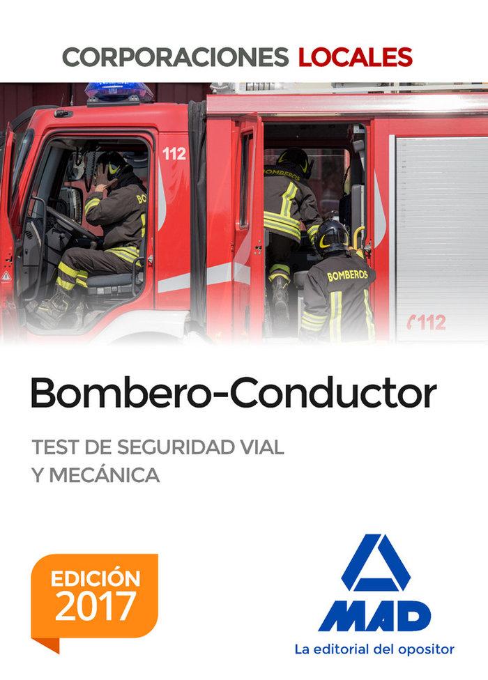 Bombero-conductor corporaciones locales. (edicion 2017)
