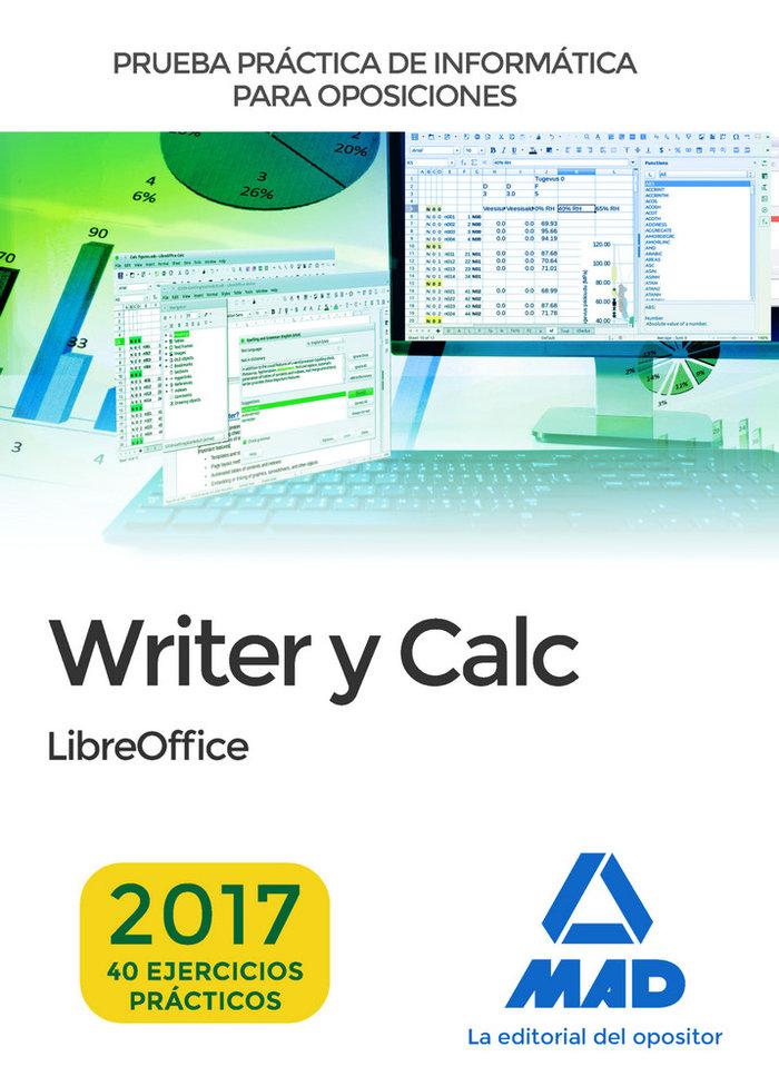 Prueba practica de informatica writer y calc
