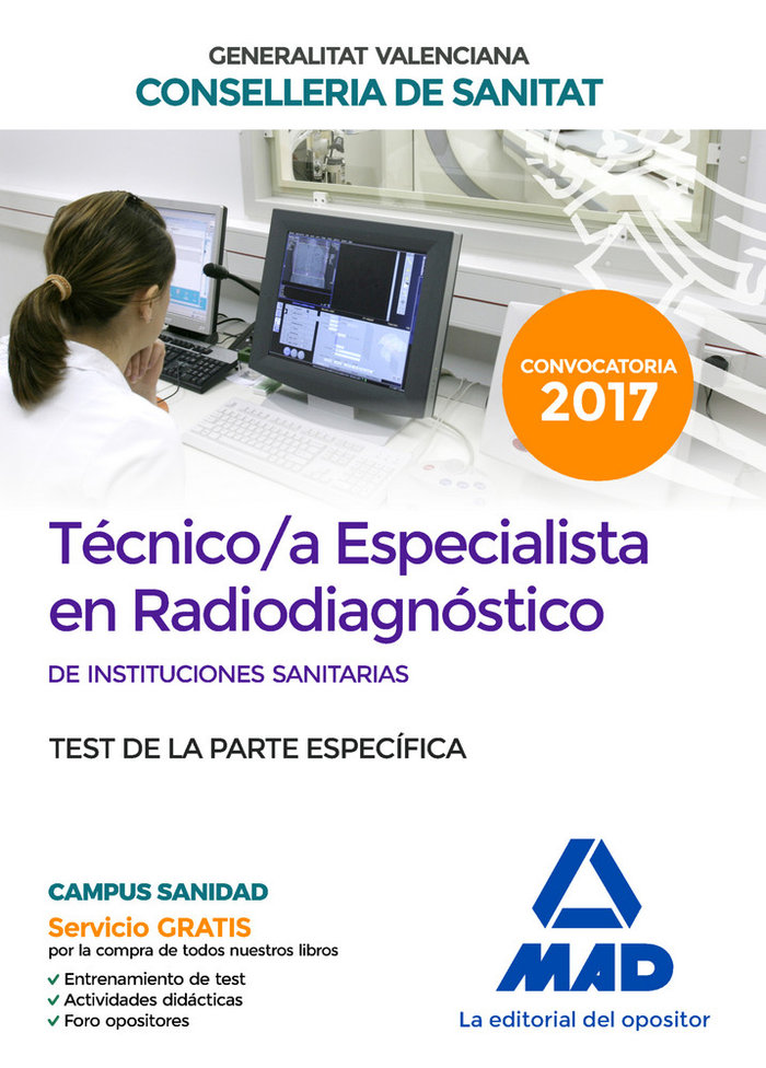 Test tecnico especialista en radiodiagnostico