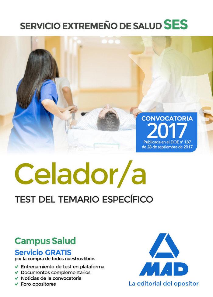 Celador/a ses 2017 parte especifica test
